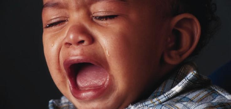 Espasmos del sollozo en niños