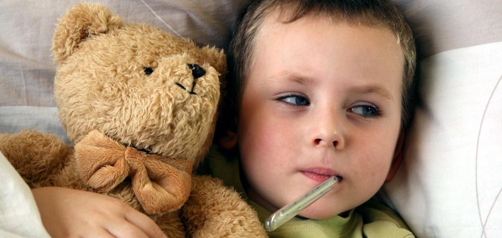 La gripe en niños y bebés.