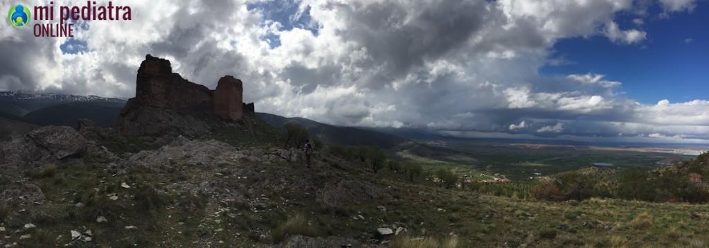 Castillo de Aldeire, Granada, España
