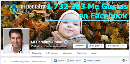Pediatra en Facebook