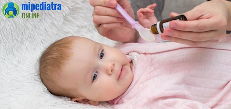 Qué hacer si mi bebé vomita el medicamento - Mi Pediatra