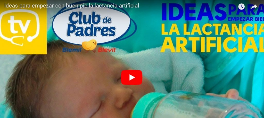 Ideas para empezar bien la lactancia artificial.
