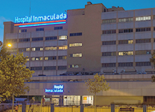 Consulta de Jesús Garrido para compañías en Hospital Inmaculada en Granada