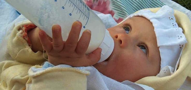 Alergia a las proteínas de la leche de vaca.