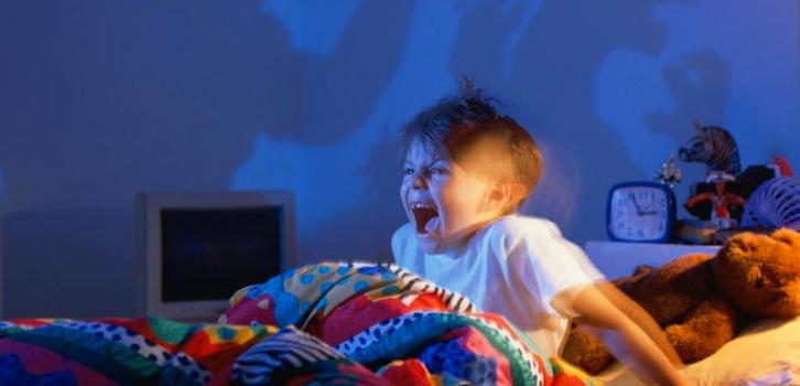 Terrores nocturnos en niños