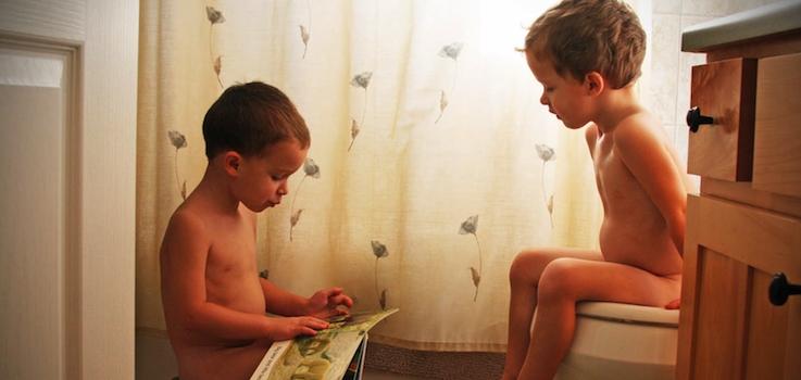 El Estreñimiento en niños y bebés