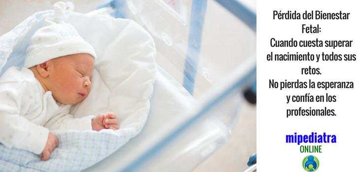 Sufrimiento fetal en el parto