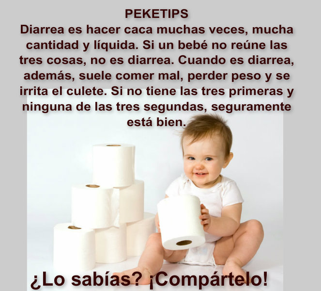 Diarrea en niños: PekeTips 2