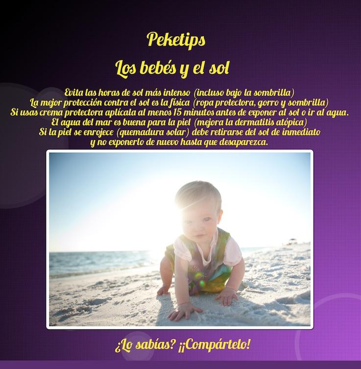 Los bebés y el sol: Peketip 15