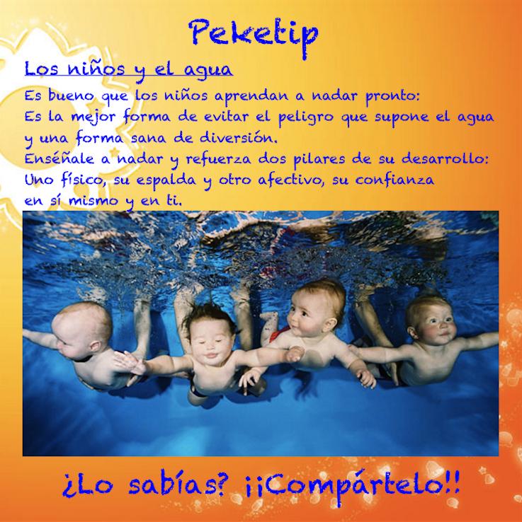 Los niños y el agua: Peketip 16