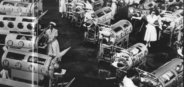 Vacuna de la Poliomielitis en niños