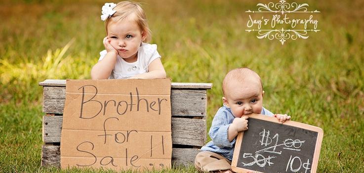 Nacimiento de un hermano y celos