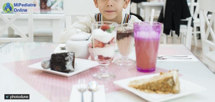 El azúcar en la alimentación infantil