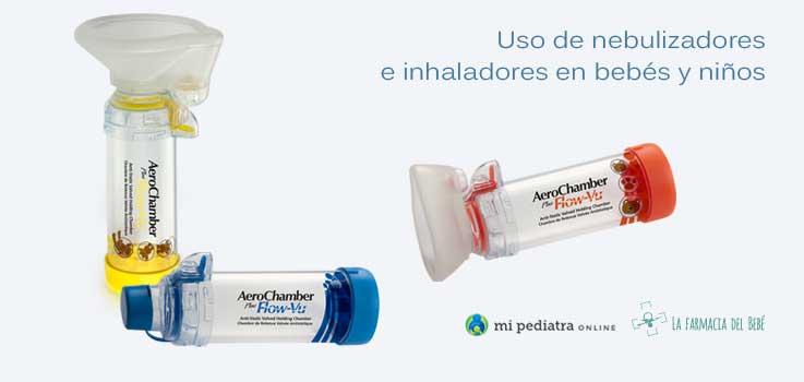 Inhaladores en bebés y niños