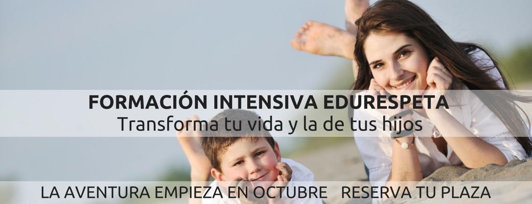Formación intensiva para padres en Educación Respetuosa