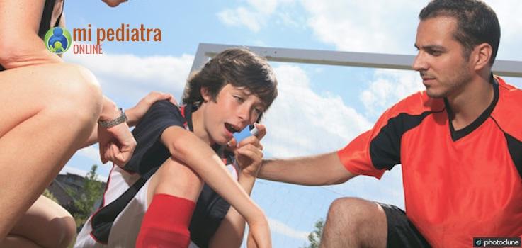 Niños con asma