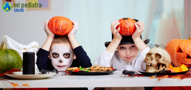 Halloween, salud y niños