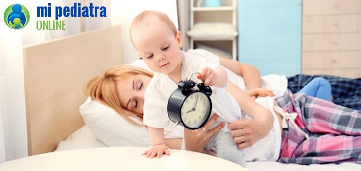 Qué hacer cuando un niño se duerme muy tarde