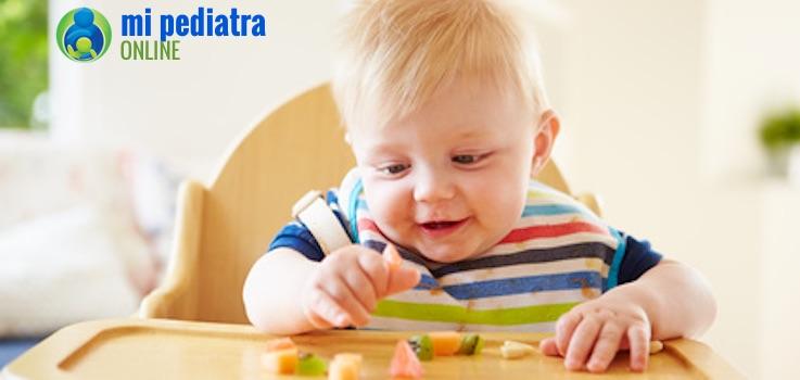 ¿Sabes por qué algunos bebés rechazan la fruta de repente?