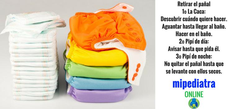 Evita los problemas más frecuentes al retirar el pañal a un niño.
